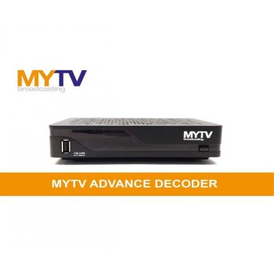MYTV Broadcasting Advance Decoder IR-9410