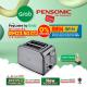 Pensonic 2 Slice Pop-Up Classic Toaster   PT-931SX