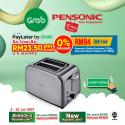 Pensonic Online Exclusive 2 Slice Pop-Up Classic Toaster   PT-931SX