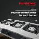 Pensonic Online Exclusive Gas Cooker   PGC-3601SX